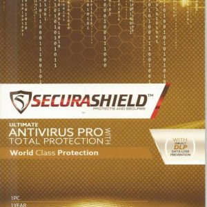 SECURASHIELD ANTIVIRUS PRO (1 PC 1 YEAR)